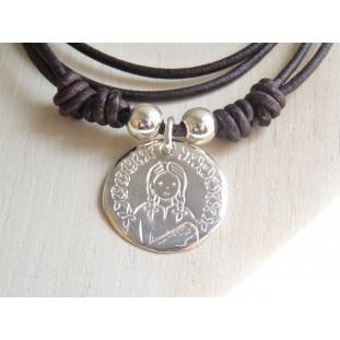 Medalla de la Virgen niña ( medalla 2,3 cm )