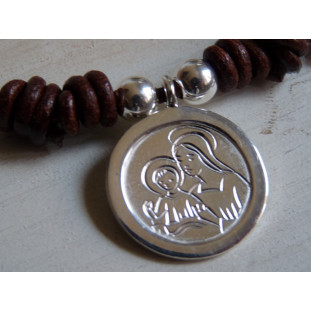 Medalla Escapulario modelo NE (medalla 2 cm)