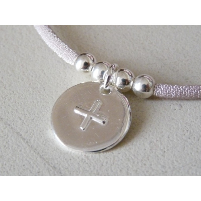 Medalla cruz relieve ( medalla 1,8 cm )