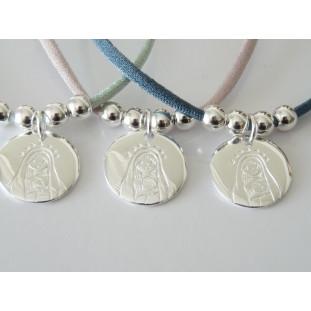 Medalla  Virgen estrellas ( 1,9 cm )