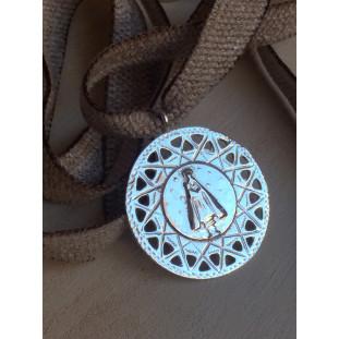 Medallón Virgen (medalla 3 cm)