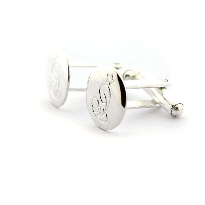 Gemelos plata NACIMIENTO (1,5 cm)