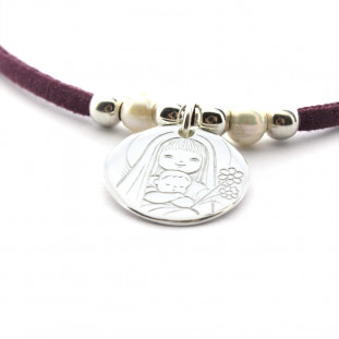 Medalla de la Virgen FLOR (...