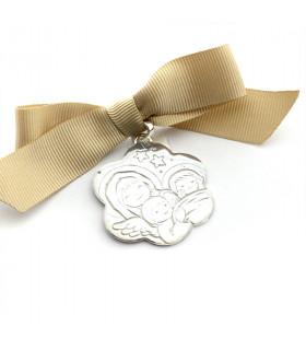 Medalla de cuna - FLOR