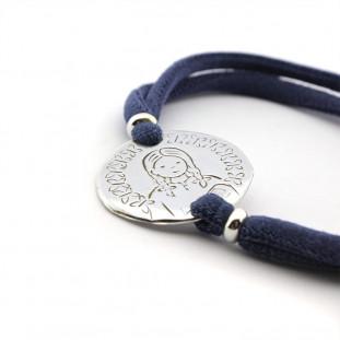 Pulsera Medalla de la...